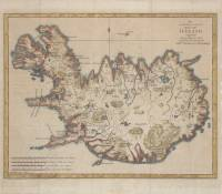 An accurate & correct map of Iceland (Jón Eiríksson/Gerhard Schøning, 1780)