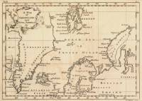 A Map of Greenland and Nova Zembla &c (John Jefferys, 1770)