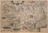 Bishop Gudbrandur Thorláksson's map of Iceland | 1590