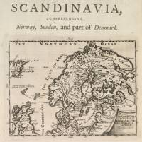 Scandinavia, or the Kingdoms of Denmark, Sueden, Norway & Lapland (Herman Moll?, 1710)