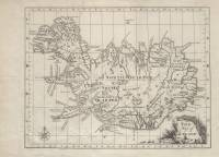 The Map of Iceland (Niels Horrebow, 1758)