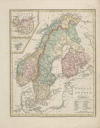 Norway and Sweden with their dependancies (Robert Wilkinson, 1808)