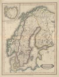 Scandinavia, including Sweden, Norway & Denmark - Iceland (William Home Lizars, 1840)