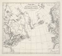 General Chart exhibiting the discoveries of the Northmen in the Arctic Regions and America during the 10th, 11th, 12th, 13th, and 14th centuries (Carl Christian Rafn, 1837)