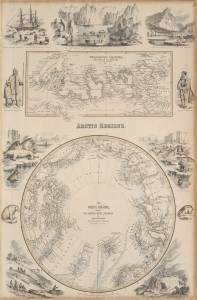 The Arctic regions, showing the northwest passage of cap. R. McClure and other Arctic voyages (1856)